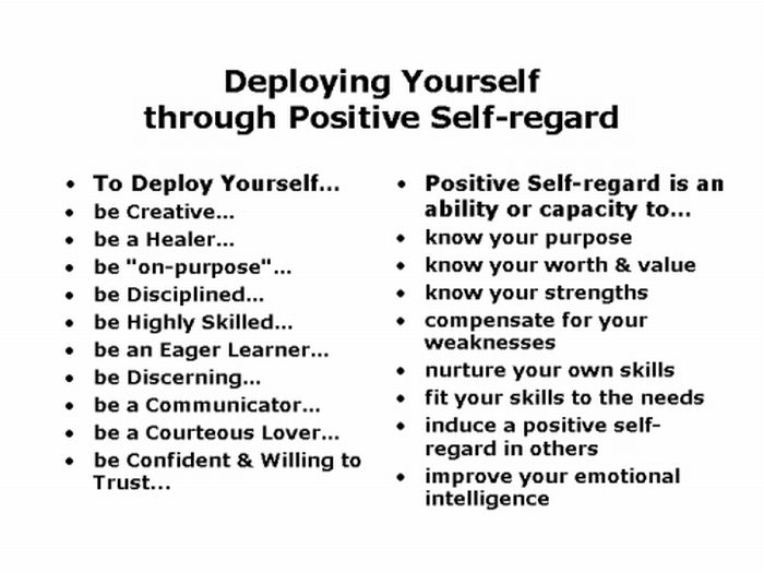 positive regard Conditional positive regard is exactly opposite to unconditional positive regard  (upr) in simple words, it can be defined as the.